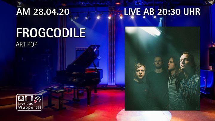 Live aus Wuppertal – Frogcodile